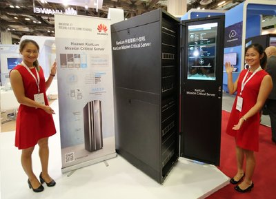 Huawei unveils All-Flash, Converged Storage & the World's First 32-Socket x86 Mission Critical Server at Cloud Expo Asia 2016