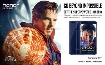全球智能手机品牌荣耀与漫威影业《奇异博士》合作