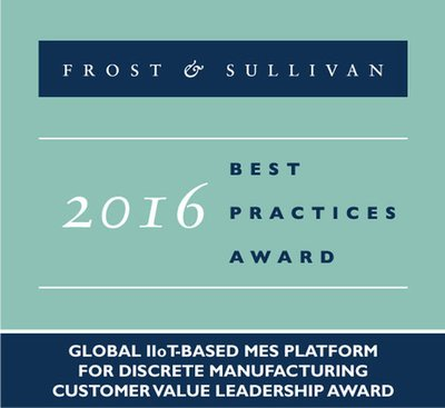 Frost & Sullivan Commends the High Flexibility of HYDRA, MPDV's IIoT-enabled MES Platform for Discrete Industries