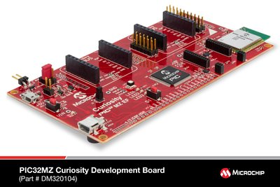 Announcing Two New Low-Cost, Feature-Rich PIC32 Curiosity Development Boards Now Available from Microchip