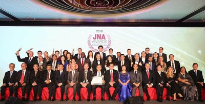 JNA Awards 2016 salutes 14 Recipients across 11 categories for innovation and excellence in driving positive impact in the jewellery and gemstone industry, with a focus in Asia