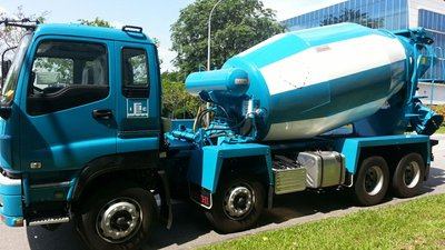 Gethi Supplies 'Hardox in My Body' Concrete Mixer Drums to Singapore's Island Concrete