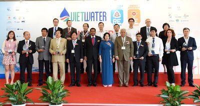 The Official Opening of Vietwater and RE & EE Vietnam 2016 in Ho Chi Minh City