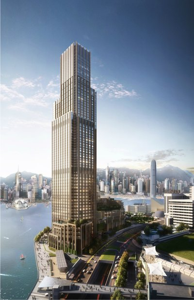 Rosewood Hong Kong Will Open in 2018, Adding a Graceful New Landmark to the Famous Harborfront