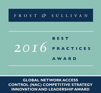 Portnox Wins Top Honors from Frost & Sullivan for its Software-based Network Access Control Solution, the Portnox NAC
