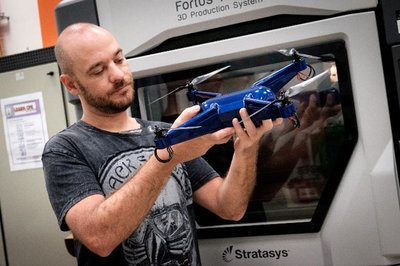 NTU and Stratasys 3D Print Operational Drone with Embedded Electronics Using Aerospace-grade Material