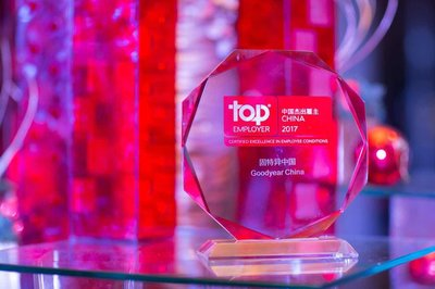 Goodyear China Named Top Employer for the 7th Consecutive Year
