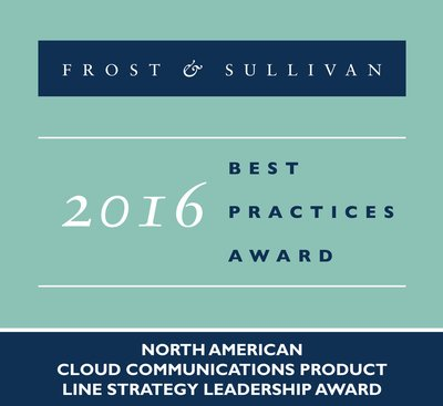 Vonage Earns Frost & Sullivan's 2016 North American Cloud Communications Product Line Strategy Leadership Award