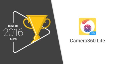 Camera360 Lite Wins Google Play