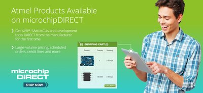 Microchip's Online Store Now Includes All Former Atmel Products