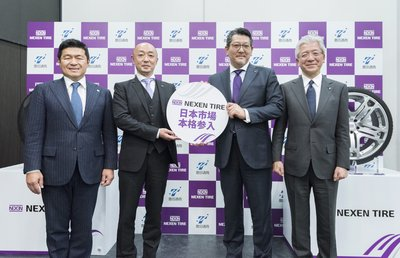 Nexen Tire Holds Inauguration Ceremony for Nexen Tire Japan Inc.