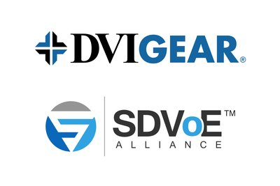 DVIGear Joins the SDVoE Alliance