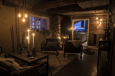 Volvo Cars and Tablet Hotels Open Secluded Get Away Lodge in the Swedish Mountains