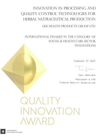 Infinitus Recognized by European Authority for Quality Innovation