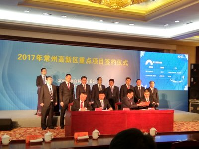 Changzhou High-Tech Park in China targets large-scale projects that promote transformation across the production chain