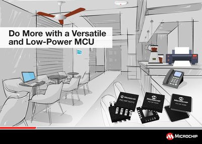 Latest PIC(R) MCU Family Brings Ease of Design with More Core Independent Peripherals
