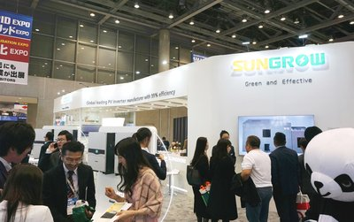 Sungrow Presented New String Inverter SG33K3J at the 7th Int'l Smart Grid Expo in Tokyo