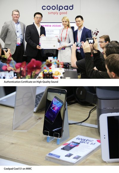 Coolpad Attended MWC2017 with its Flagship Cool S1