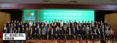 中国化学与物理电源行业协会动力电池应用分会在京成立