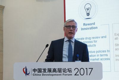 Sanofi CEO Olivier Brandicourt's 2017 China Visit
