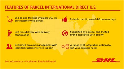Features of Parcel International Direct U.S.