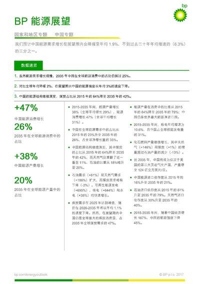 BP世界能源展望:能源转型进行时