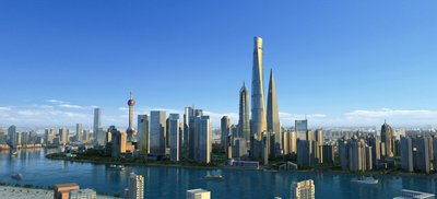 Shanghai Tower, the first super high-rise building with dual green building certifications in China