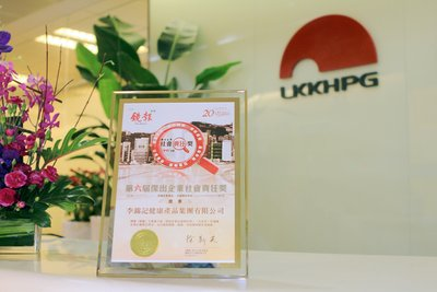 LKK Health Products Group is honored with the