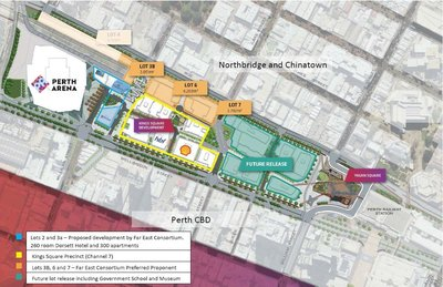 FEC Selected to Develop Perth City Link Sites in Australia