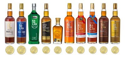 Kavalan hits 220 Golds at San Francisco World Spirits Competition