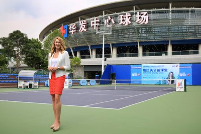 Stefanie Graf Continues As Tournament Ambassador for 2017 WTA Elite Trophy Zhuhai