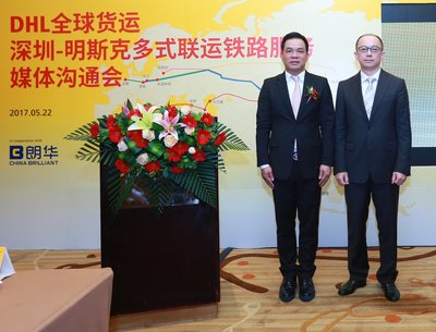 "DHL extends ""Belt and Road"" network with new Shenzhen-Minsk multimodal rail connection"