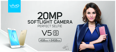 Vivo's New Flagship Smartphone V5s Enables Perfect Selfies in Low-Light Environments
