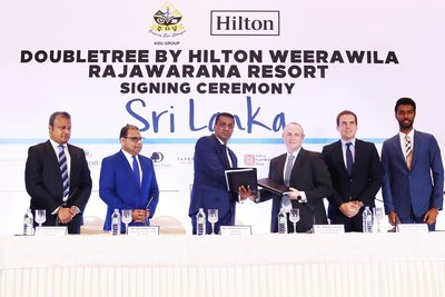 Hilton to Open First Upscale Resort in Weerawila, Sri Lanka