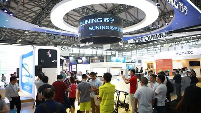 Suning Showcases 'Smart Retail' at CES Asia