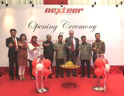 Grand opening ceremony of Nexteer Automotive Indonesian Plant