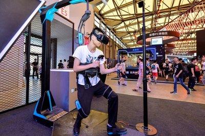 """""""英特尔主题馆""""中顶级的VR体验"""