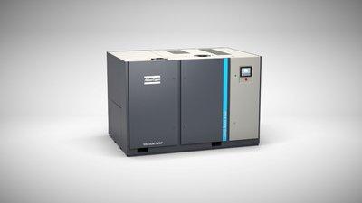 即时可用,高效的变速驱动GHS VSD+真空泵进气流量可达5004 立方米/时。为中央真空系统提供支持。