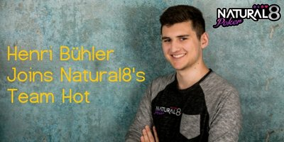 Henri Buhler joins team Natural8!
