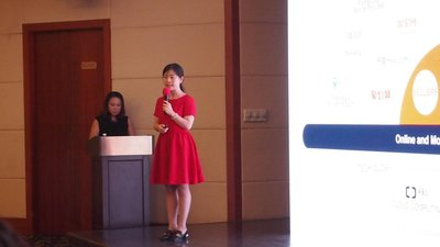 阿里云新零售的数据智能解决方案负责人--中华女士
