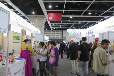 Over 70 of Korea's enterprises joined HKTDC Food Expo 2017 under the support of Korea Agro-Fisheries & Food Trade Corporation