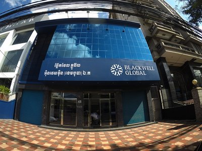 View of Blackwell Global Cambodia's Office