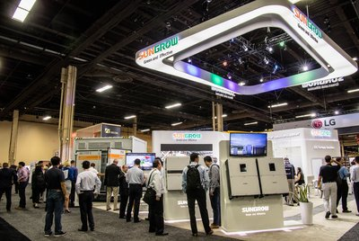 Sungrow 1500V Inverters and Energy Storage System on Show at Solar Power International