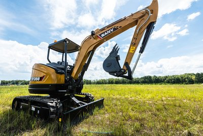 SANY's newly released SY35U mini excavator wins praise in Australia and New Zealand