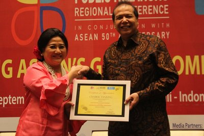Chairul Tanjung in ASEAN PR Conference 2017: Good Regional Communication Enhances Business and Investment Opportunities