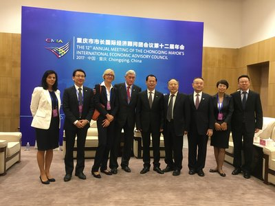 Dr. Hannes Androsch, AT&S Supervisory Board Chairman attended the 12th Annual Meeting of the CMIA in Chongqing