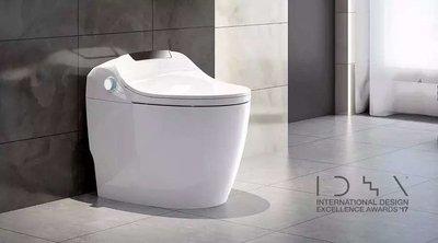 荣获2017年美国工业设计IDEA大奖的恒洁卫浴Q9智能一体机