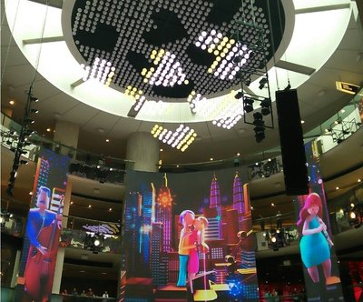 Of Wonderwalls And Amazing Balls - Resorts World Genting unveils largest permanent winch installation called SkySymphony and magnificent LED shows at SkyAvenue