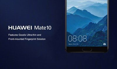 Powered by Goodix's ultra-thin fingerprint authentication solution, HUAWEI Mate 10 shines in Munich