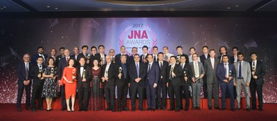 The JNA Awards 2017 Ceremony and Gala Dinner, held on 14 September, was a success with 20 Recipients honoured across 11 categories